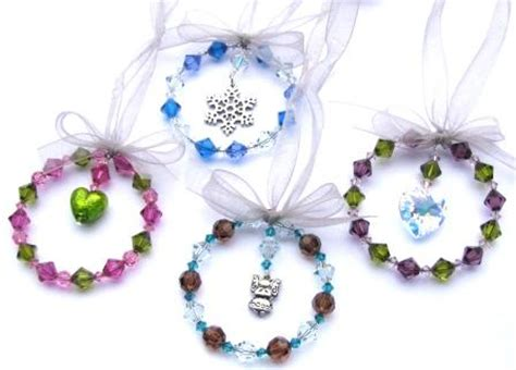 how to make holiday beaded ornaments tutorials the