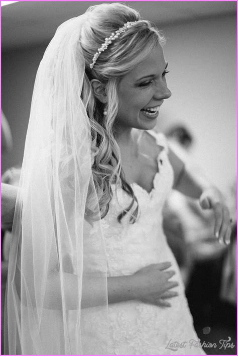 Wedding Hairstyles Hair Half Up With Veil by Bridal Hairstyles Half Up With Veil Latestfashiontips