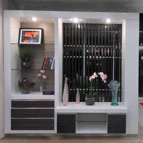 partisi ruangansekat ruangan putih minimalis kayu home
