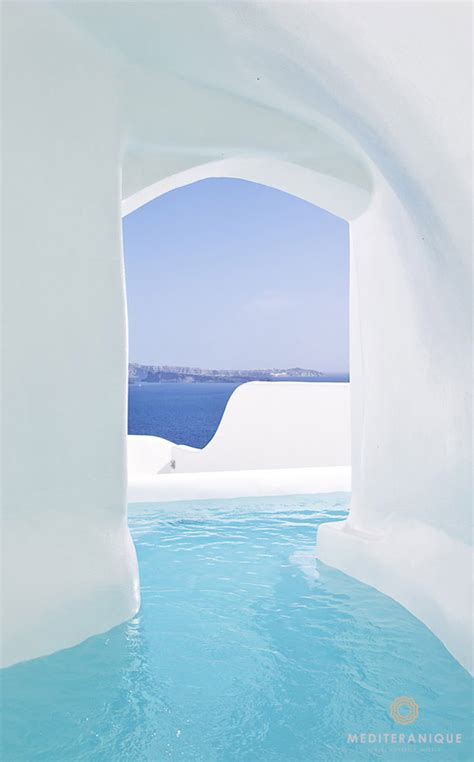 The river pool suite at the canaves oia hotel amp suites in santorini greece holiday pools