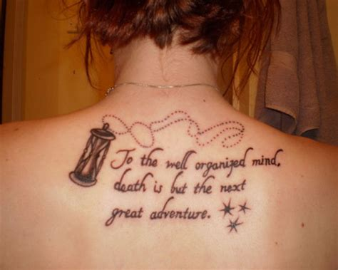 good quote tattoos inspirational quotes for tattoos quotesgram