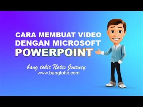 membuat video animasi dengan powerpoint cara membuat video dengan microsoft powerpoint youtube
