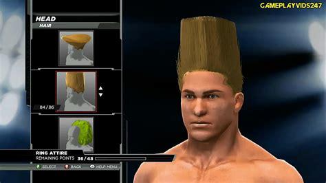 wwe 2k15 create wrestler superstar hd youtube wwe 2k15 create a superstar complete showoff head