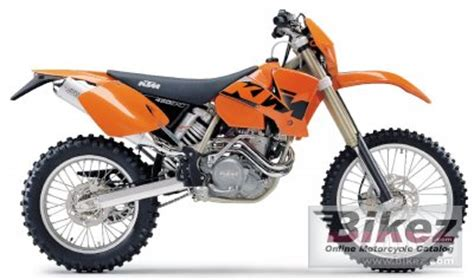 2003 Ktm 450 Exc Specs 2003 Ktm 450 Exc Racing Specifications And Pictures