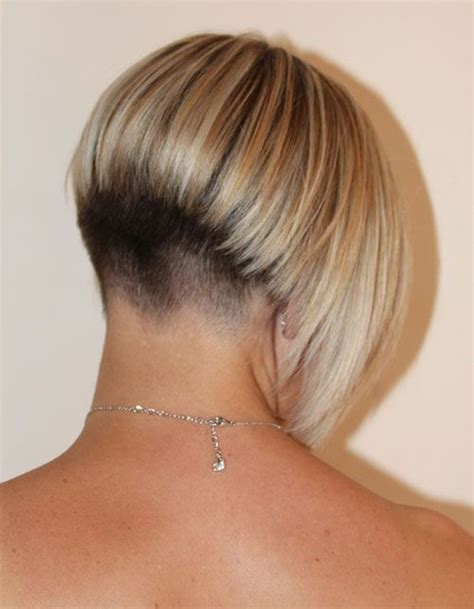 angled bob haircut from back rear view of short angled bobs hairstylegalleries com