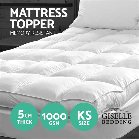 Mattress Topper Protective Cover by Luxury Pillowtop Mattress Topper Memory Resistant Protect