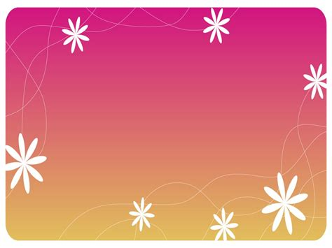 cute design for powerpoint cute flowers design background hq free download 10717