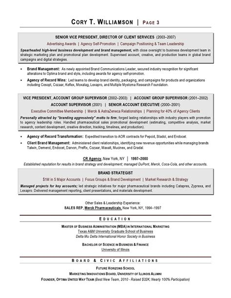 Award Winning Resumes by Executive Resume Writer Smith Proulx Award Winning