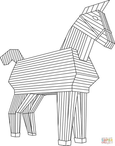 Caballo De Troya Dibujo 81818   INFOBIT