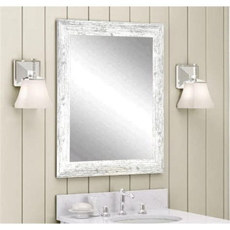 White Mirror For Bathroom by Unique Bathroom Mirror Distressed Dkbzaweb