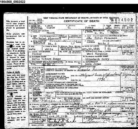 Wv Birth Records All Results For Jones In County West Virginia Marriages 1806 Breeds Picture