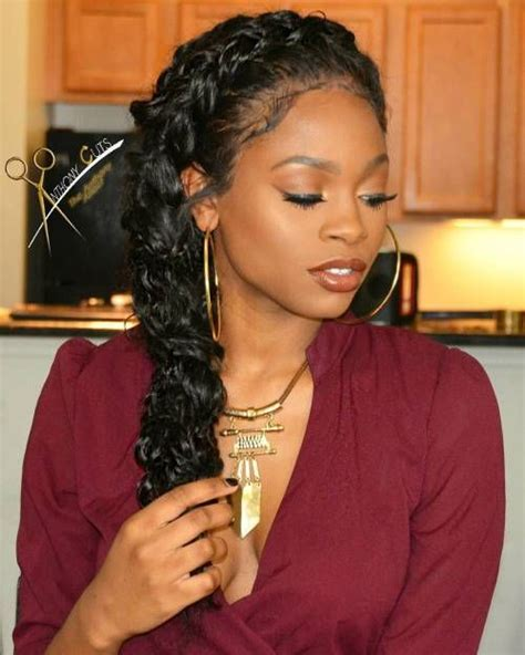 One Braid Black Hairstyles by 40 Black Braided Hairstyles Hair Styles For Black