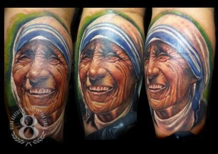 mother teresa tattoo teresa of calcutta by visiting artist alink