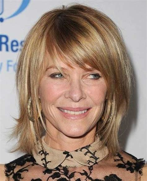 pictures of older woman with banged bobs 15 good layered bob with side bangs bob hairstyles 2017