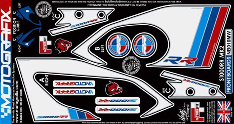 Bmw S1000rr 2015 Aufkleber by Bmw S1000rr 2015 Model Motografix Tank Pad Damla Sticker