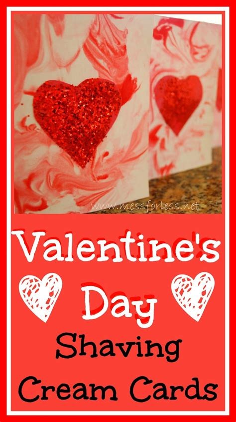 make a valentines card s day cards using mess for less