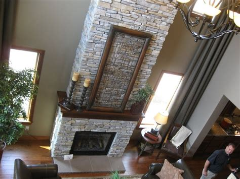 wrap around mantle home fireplaces