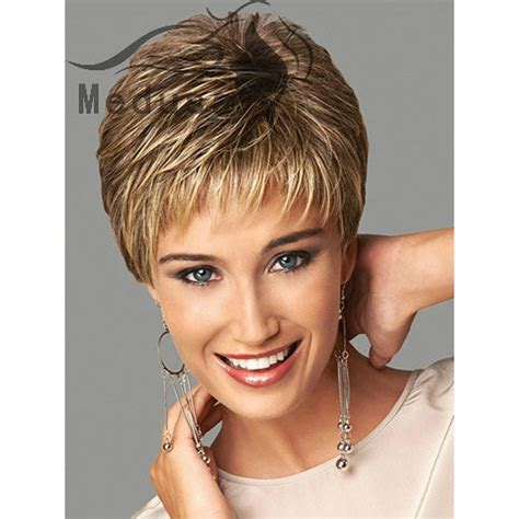 Medusa hair products: Sassy Boy cut short pixie style wigs