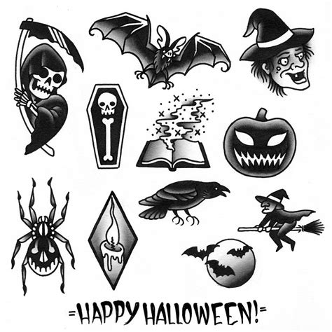 halloween tattoo specials 3 days of specials brokelyn