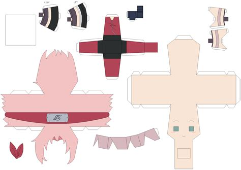 Deviantart Papercraft - papercraft template request by huski fan on