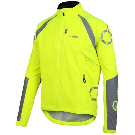 cycling jacket vestes imperm 233 ables v 233 lo dhb flashlight