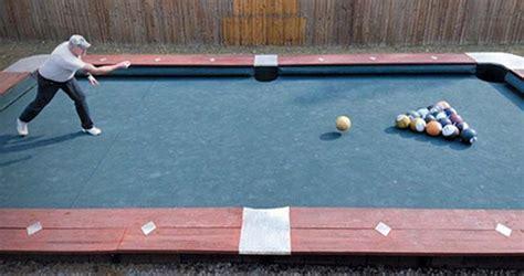 backyard pool table giant backyard pool table outdoor oasis pinterest