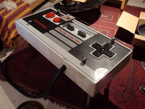 A Giant Functional Nintendo Nes Controller Coffee Table Nes Coffee Table