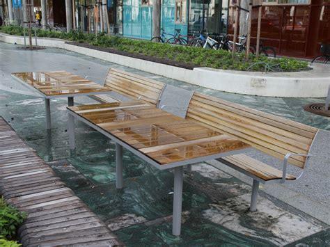 panchina parco panchina in acciaio e legno con schienale parco panchina