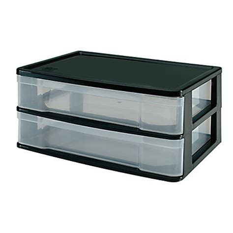 Office Depot Storage Drawers by Office Depot Brand Storage 2 Fixed Drawers 7 H X 13