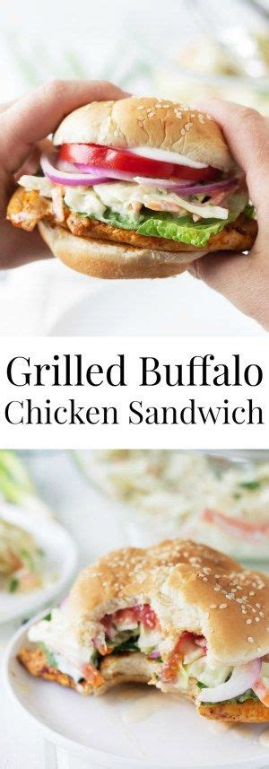 grilled buffalo chicken sandwiches recipe easy recipes sauces and chicken breasts