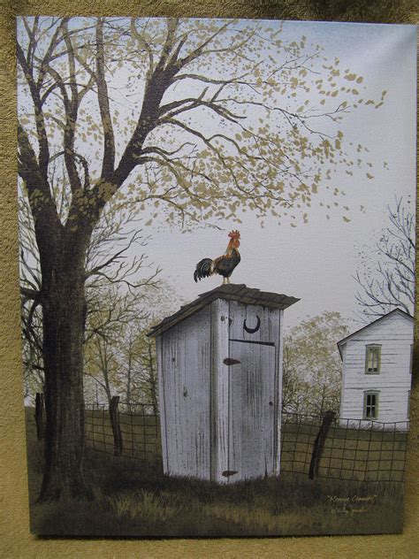 Canvas painting wall decor country farm bathroom restroom ebay