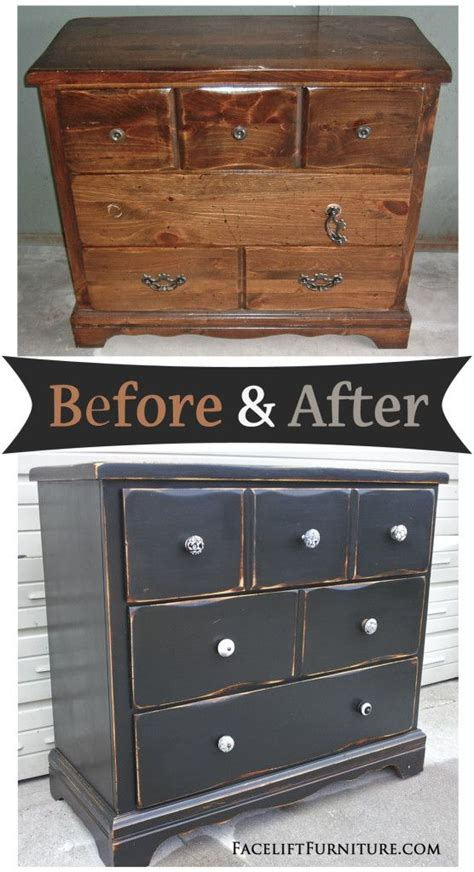 distressed painted bedroom furniture 25 best ideas about black distressed dresser on pinterest