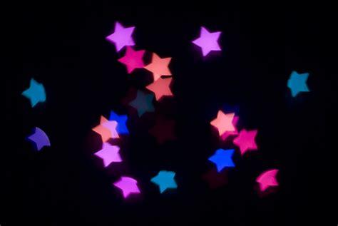 printable bokeh shapes photo of festive stars free christmas images