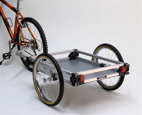 bike trailer cargo bicycle trailer wike bicycle trailers the walk and bike company