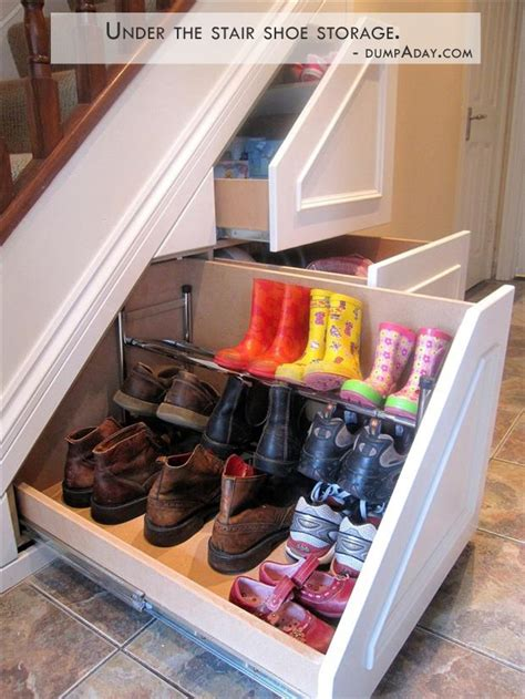 under the stairs storage genius ideas under the stair storage dump a day