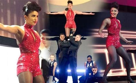 priyanka chopra dance performance 2016 priyanka chopra charms hollywood with a sizzling