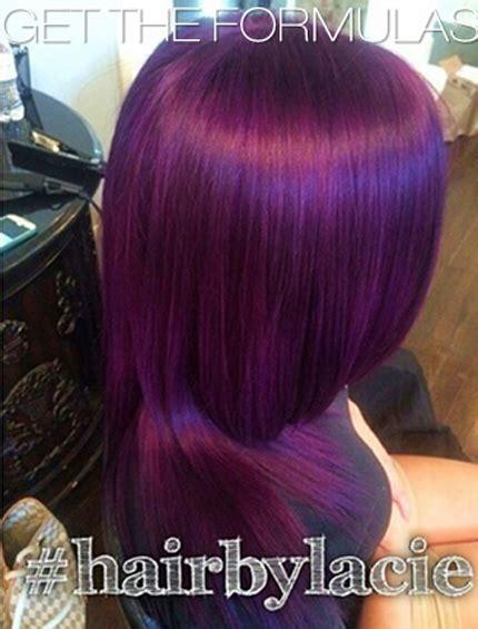 dark lavender hair color formula purple royalty color formulas http behindthechair com