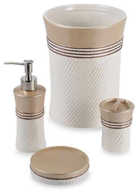 Dkny Bathroom Accessories Dkny Home Filigree Bath Collection Traditional Bath And Spa Accessories By Bed Bath Beyond