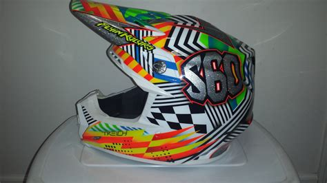 custom painted motocross helmets custom painted helmet thread moto related motocross
