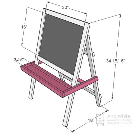 Dimensions are shown above warning this is a little easel if you