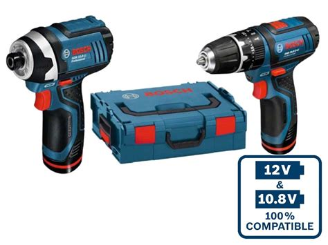 H L Hl13re Impact Drill bosch 06019b697f 12v 2x2 0ah li ion impact driver and