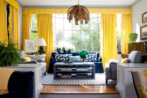 yellow curtains for living room design diy