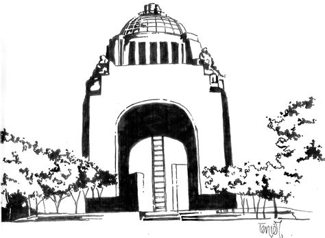 imagenes del monumento ala revolucion mexicana para colorear espacio p 250 blico y ciudad navegando la arquitectura