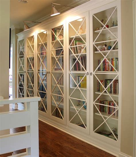 Glass Door Bookshelves 15 Inspiring Bookcases With Glass Doors For Your Home