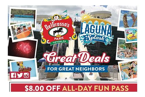 delgrosso park discount coupons