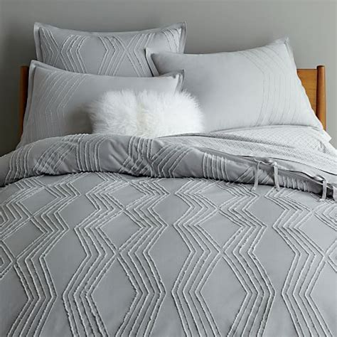 bettdecke textur roar rabbit zigzag texture duvet cover shams