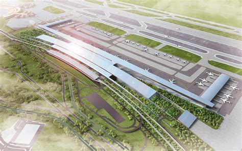 layout bandara kertajati soekarno hatta international airport terminal 3 winning