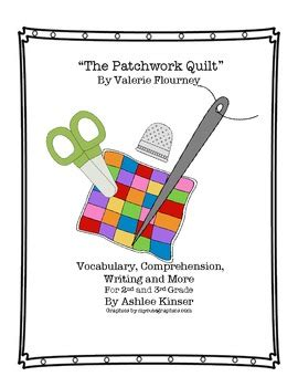 The Patchwork Quilt Lesson Plans - the patchwork quilt vocabulary comprehension homework
