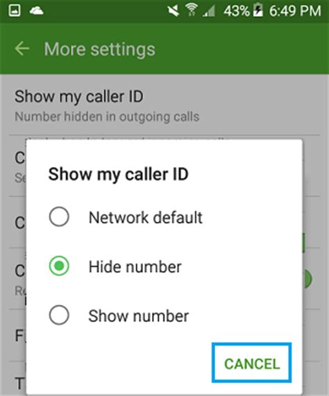hide phone number android how to hide your caller id on android phone
