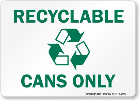 recycle sign template recycle aluminum cans signs labels
